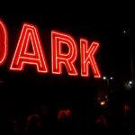 dark mofo winter feast sign at night