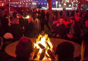 fires at Hobart Dark Mofo Winter Feast