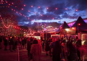 Hobart Dark Mofo Winter Feast action